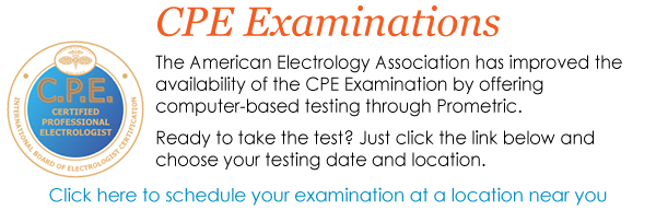 Become a CPE by taking the CPE Exam at one of the many Prometric testing sites across the country.